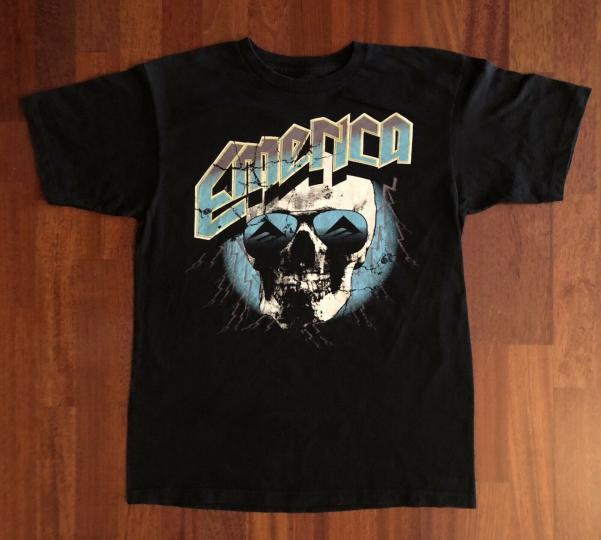 EMERICA Skateboarding Skull Shirt Size Medium