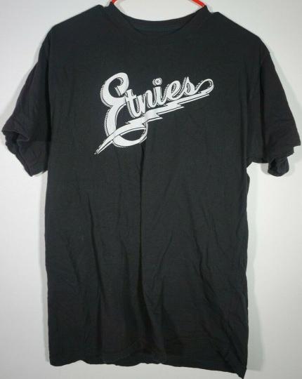 ETNIES Script Logo Skateboard Clothing for Men's Size Large T-Shirt