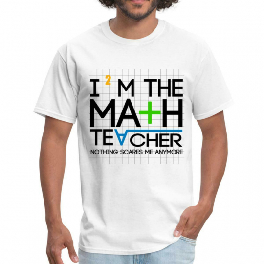 Education Math Teacher Funny Quote Men's T-Shirt by Spreadshirt™