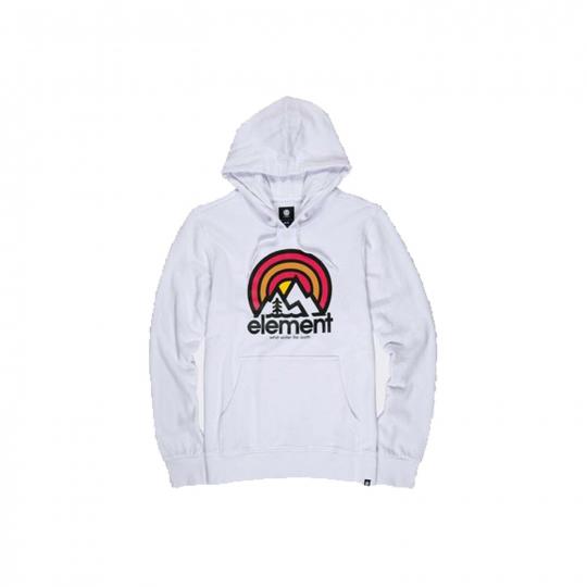 Element Skateboard Sweatshirt Sonata Fleece Optic White