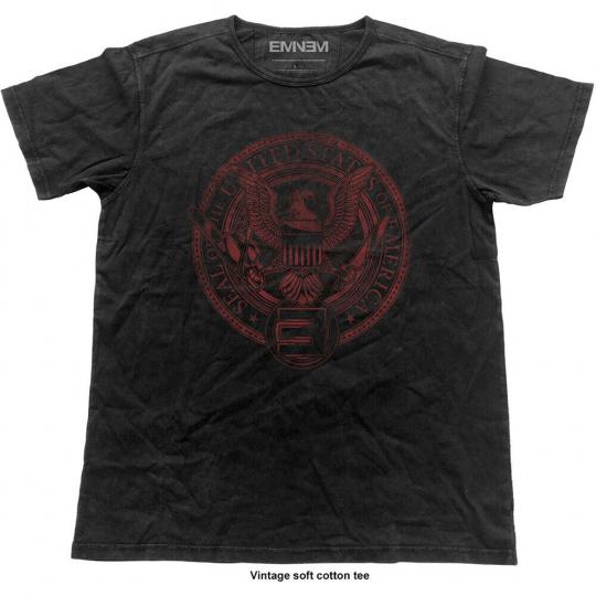 Eminem Slim Shady Emerica Seal Official Tee T-Shirt Mens