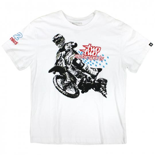 Etnies Skateboard T-shirt ROGUE RIDER YOUTH KIDS S/S TEE White