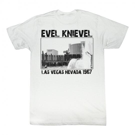 Evel Knievel 1967 Adult T-Shirt Tee