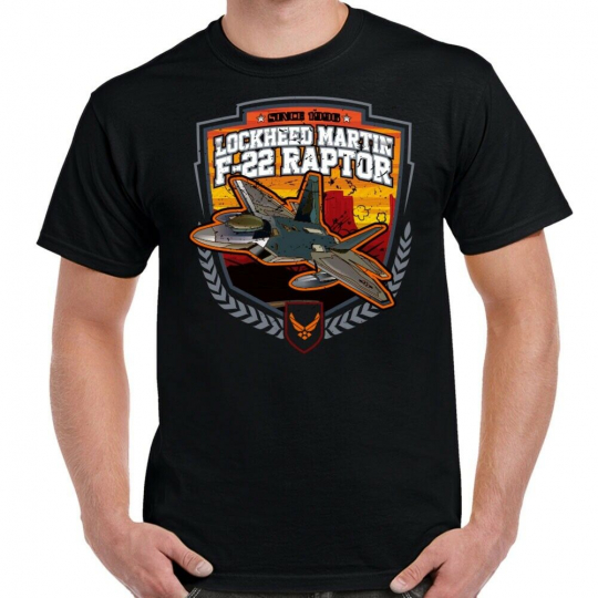 F-22 Lockheed Martin Raptor Men's T-Shirt