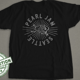 Seattle Pearl Jam T-shirt
