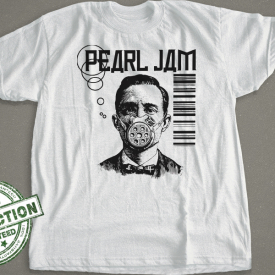 Gas Mask Pearl Jam  T-shirt