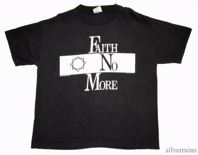 Faith No More Vintage T Shirt 90's 1990's Concert Tour Real Thing Alt Metal Band