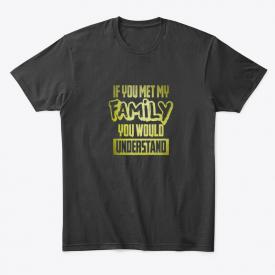 Family Funny Laugh, Humor, Hilarious Premium Tee T-Shirt