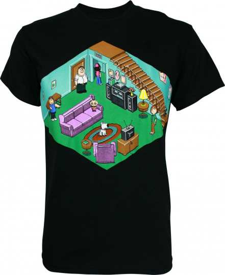 Family Guy Griffin Game Home T-Shirt
