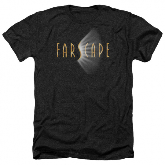Farscape TV Show LOGO Licensed Adult Heather T-Shirt All Sizes