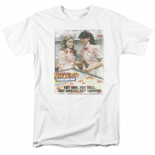 Fast Times at Ridgemont High Movie Poster FAST CARROTS? T-Shirt All Sizes