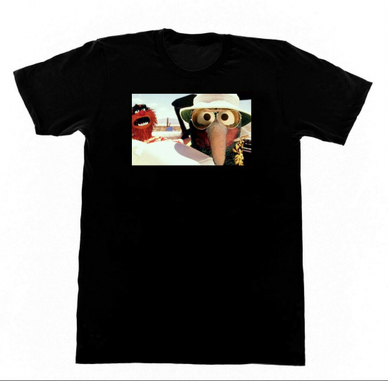 Fear and Loathing Gonzo Shirt F19 Tshirt Muppets Hunter S. Thompson