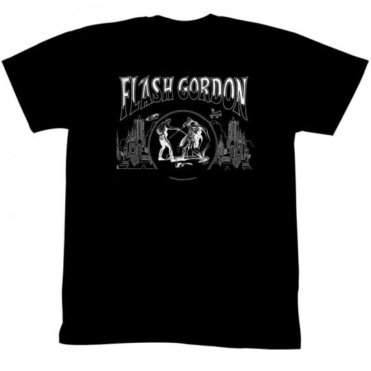 Flash Gordon Jack Flash Adult T-Shirt Tee