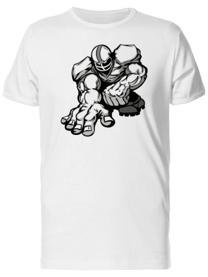 Football Player, Retro Cartoon Men's Tee -Image by Shutterstock