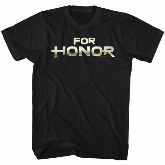 For Honor For Honor Logo Black Adult T-Shirt