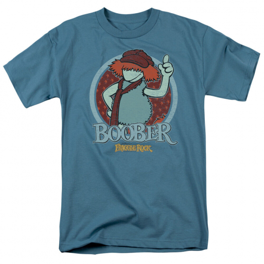 Fraggle Rock TV Show BOOBER CIRCLE Licensed Adult T-Shirt All Sizes