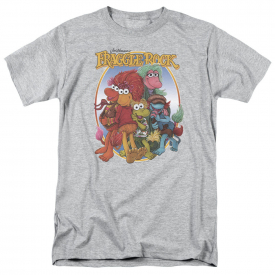 Fraggle Rock TV Show GROUP HUG Licensed Adult T-Shirt All Sizes