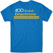 GIRL Skateboards x KODAK Film Ektachrome 400 Blue T-Shirt