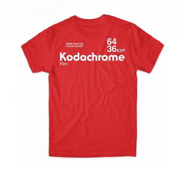 GIRL Skateboards x KODAK Film Kodachrome Red T-Shirt