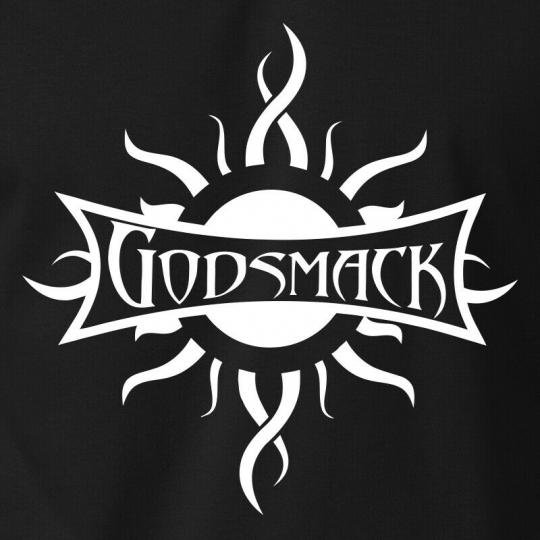 GODSMACK T-Shirt Metal Rock Band Logo Concert Tour Tribal Sun S-6XL Gildan Tee