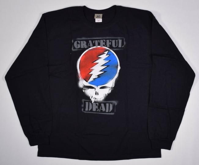 GRATEFUL DEAD- GRAFFITI SYF-BLACK LONG SLEEVE SHIRT- XL,XXL RARE