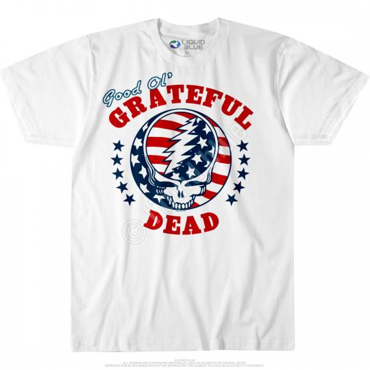 GRATEFUL DEAD-US INDEPENDENCE-SYF GOOD OL' GD-TSHIRT M, XL-XXL, 3X, 6X