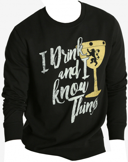 Game of Thrones I Drink and I Know Things Men's Sweatshirt