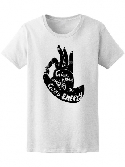 Give This World Good Energy Boho Women's Tee -Image by Shutterstock