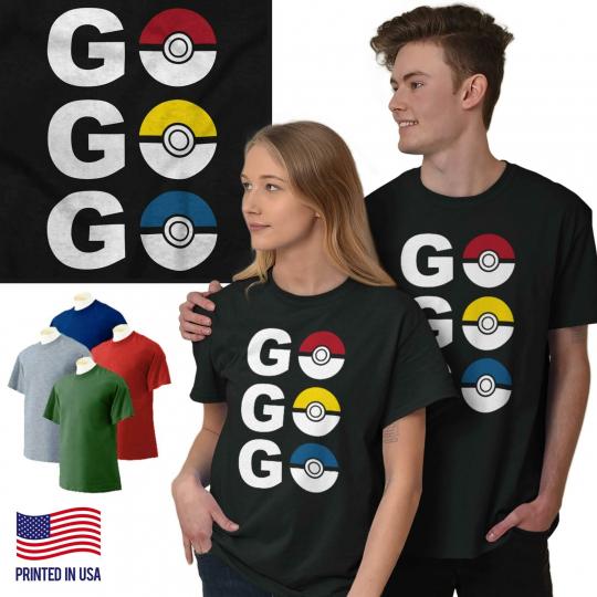 Go Video Gamer Gaming Nerd Geek Master Train Short Sleeve T-Shirt Tees Tshirts