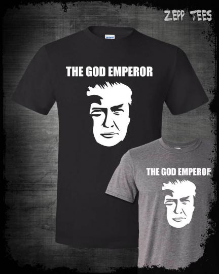 God Emperor Trump Meme Shirt Funny MAGA President Top Kek Liberal Tears USA