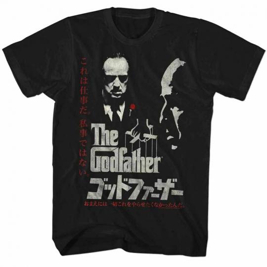 Godfather Black Adult T-Shirt
