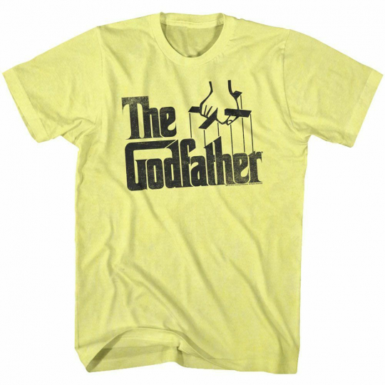 Godfather Logo Yellow Heather Adult T-Shirt