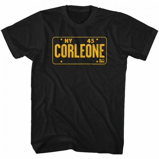 Godfather NY 45 Black Adult T-Shirt