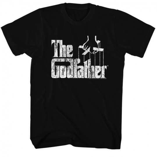 Godfather The Movie Distress Copy Adult T-Shirt Tee