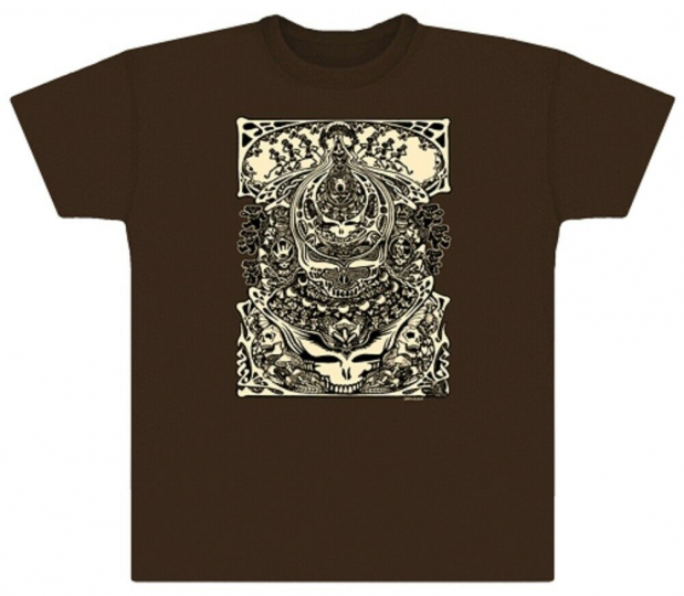 Grateful Dead Aiko Aiko Steal Your Face Solid T Shirt