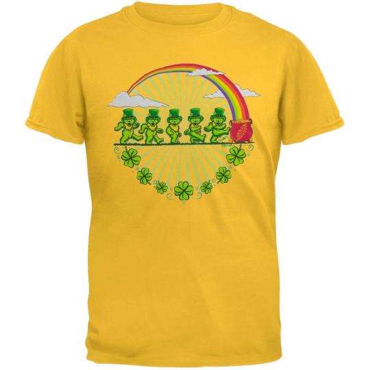 Grateful Dead - Boys Leprechaun Bears Daisy Youth T-Shirt
