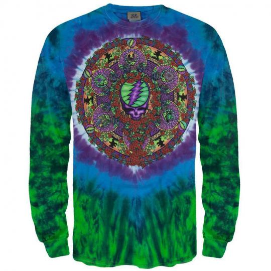 Grateful Dead - Celtic Mandala Long Sleeve T-Shirt