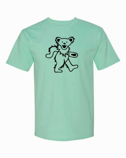 Grateful Dead Dancing Bear T-Shirt. Must have for any fan!