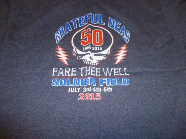 Grateful Dead Fare Thee Well Soldier field Tour shirt