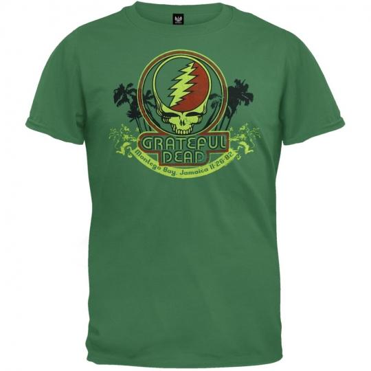 Grateful Dead - Montego Bay Soft Adult Mens T-Shirt