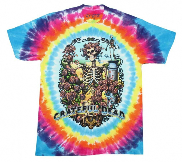 Grateful Dead Rainbow Bertha T-Shirt Tie Dye Medium
