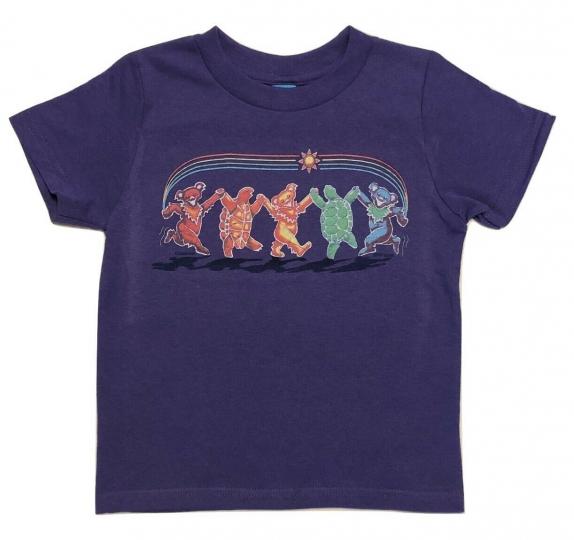 Grateful Dead Rainbow Critters Toddler T Shirt