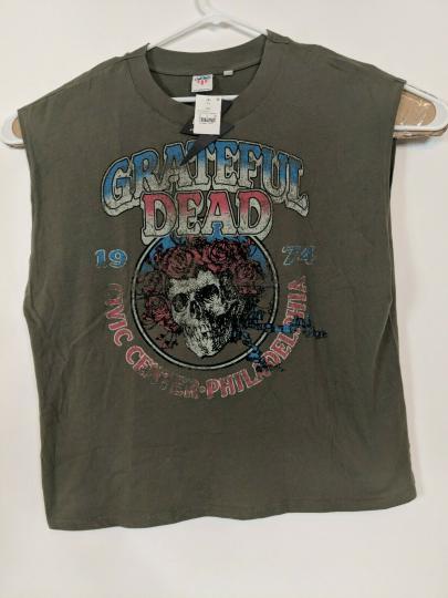 Grateful Dead Shirt Men's XXL Live Junk Food Muscle