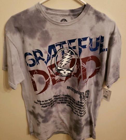 Grateful Dead T-shirt Knickerbocker Arena Spring Tour 3/24/1990 size med