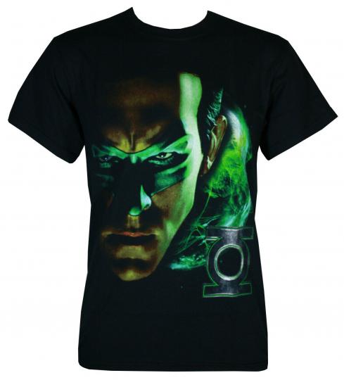 Green Lantern Shadow Portrait T-Shirt