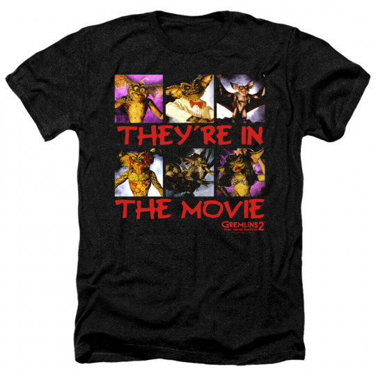 Gremlins 2 In The Movie Adult Heather T-Shirt