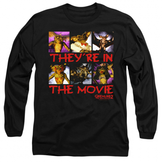 Gremlins 2 In The Movie Adult Long Sleeve T-Shirt