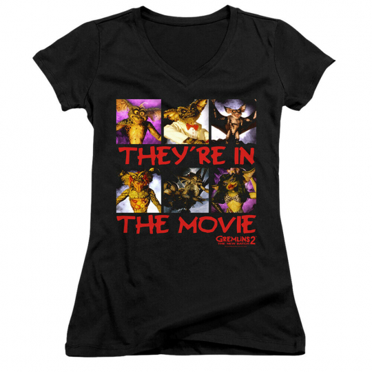 Gremlins 2 In The Movie Junior V-Neck T-Shirt