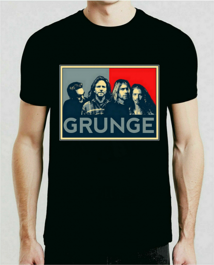 Grunge Big For Nirvana AIC Soundgarden T-Shirt Grunge Rock Gift for Men/Women