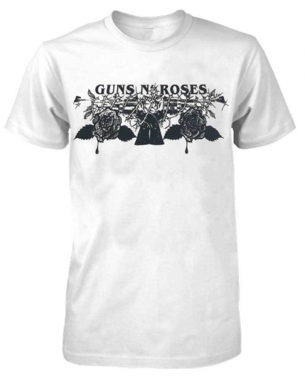 Guns N Roses 1986 1st Official Band Tour Shirt Rock n Roll Bands GNR 9121610